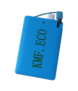 2500mAH Slimline Power Bank Blue