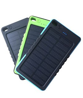 Solar Charger Single Usb 8000 mAh
